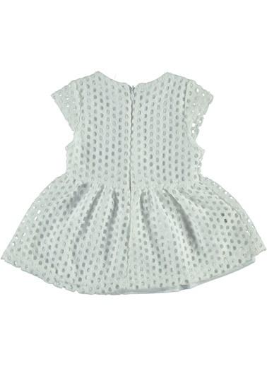 Mininio Elbise Beyaz